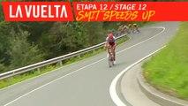 Smit sort du peloton / Smit speeds up - Étape 12 / Stage 12 | La Vuelta 19