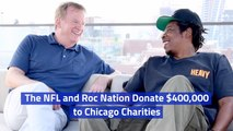 The NFL And Roc Nation Give Back To Chicago