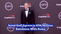 Jared Goff Gets A Lot Of Cash To Stay With The Rams