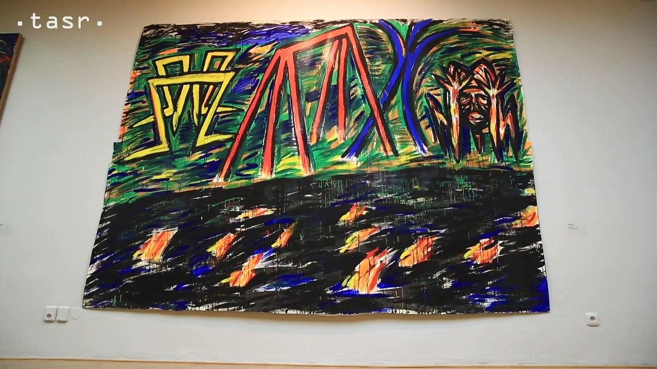 Laco Teren má v SNG výstavu Nič nás nezastaví!