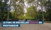 Le parc de Bruxelles rénové en profondeur