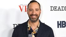 Tony Hale and Daughter Loy Like to Spend Time Walking in a 'Central AC Mall' Together