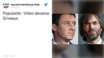 Sondage : Cédric Villani plus populaire que Benjamin Griveaux