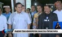 Soal Papua, Prabowo: Jangan Saling Menyalahkan