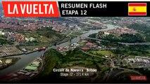 Resumen Flash - Etapa 12 | La Vuelta 19