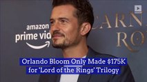 Orlando Bloom Only Made $175K for 'Lord of the Rings' Trilogy