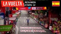 Resumen - Etapa 12 | La Vuelta 19