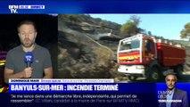 Incendie: le feu qui a détruit 33 hectares à Banyuls-sur-Mer est terminé