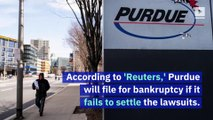 Opioid Maker Purdue Pharma May File for Bankruptcy