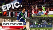 Bundesliga: Top 5 Moments from Bas Dost in Germany