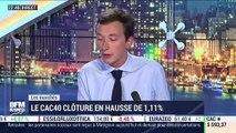 Les Marchés parisiens: Le CAC40 clôture en hausse de 1,11% - 05/09