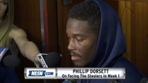 Phillip Dorsett On Patriots vs. Steelers Week 1