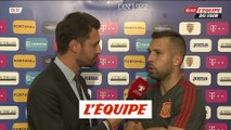 Jordi Alba «Neymar est surtout un joueur du PSG» - Foot - Qualif. Euro - ESP