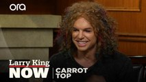Comedian Carrot Top says he's nothing like his on-stage persona