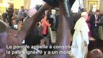 Mozambique : réactions après le message d'unité du pape François