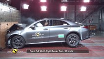 Mercedes-Benz CLA - Crash Tests 2019