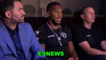 Anthony Joshua Answers Did He Take Andy Ruiz Lightly In First Fight
