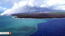 Kilauea Volcano Eruption Caused Algae Bloom Spanning Hundreds Of Miles