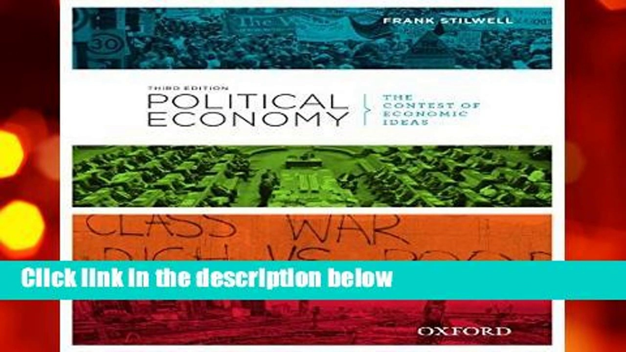 [FREE] Political Economy: Political Economy: The Contest of Economic Ideas, 3rd Edition