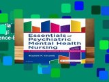 Essentials of Psychiatric Mental Health Nursing: A Communication Approach to Evidence-Based Care,