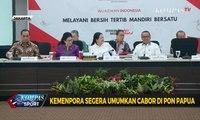 Kemenpora Segera Umumkan Cabor di PON Papua