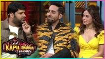 Kapil Sharma FLIRTS With Nushrat Bharucha | Ayushmann Khuranna | Dream Girl