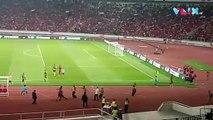 Detik-detik Ricuh Suporter Timnas Indonesia vs Malaysia