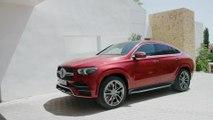 Das neue Mercedes-Benz GLE Coupé - Das Exterieur-Design - kraftvoller Auftritt
