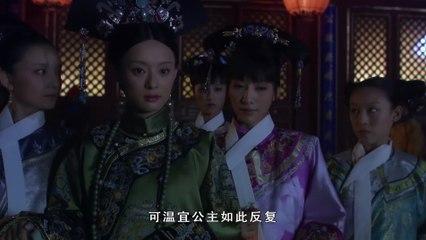 安陵容察觉温宜吐奶有蹊跷,甄嬛便猜测到了华妃和曹贵人的目的