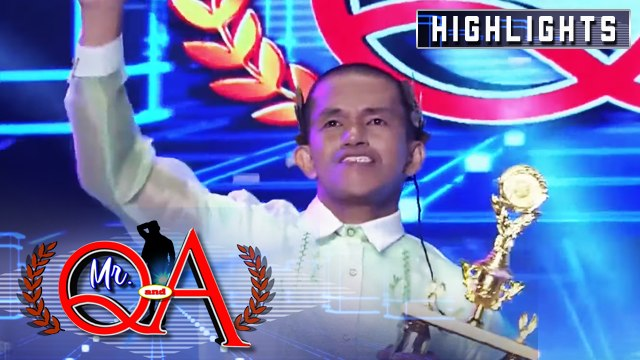 Bokyo wins as Mr Q & A! | It's Showtime Mr Q and A