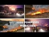 Des incendies ont dévasté des centaines d'hectares dans plusieurs départements français