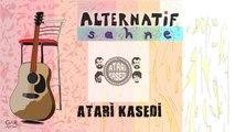 Atari Kasedi -Gri kentin Kızıl Kadını