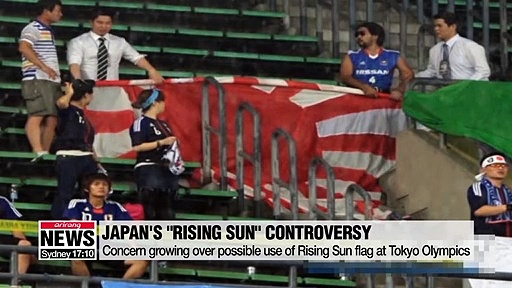 Japan, IOC urged not to allow 'Rising Sun' flag at Tokyo Olympics