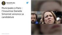 Municipales à Paris : L'élue Insoumise Danielle Simonnet se porte candidate