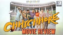 Chhichhore Movie Review | Sushant Singh Rajput | Shraddha Kapoor