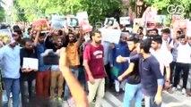 Kashmiri Students In AMU Protest Against Communication Blackout In J&K