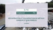 SFE, Charbonnel et Fils, récupération et valorisation de métaux à Etampes.