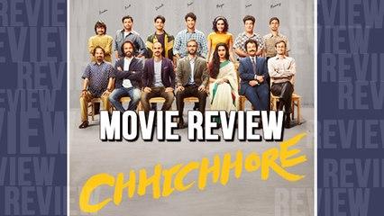 Chhichhore Movie Review Sushant Singh Rajput Shraddha Kapoor
