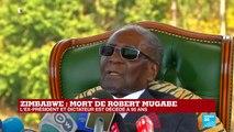 """Mort de Robert Mugabe : """"On a vu un homme qui a accepté la débâcle de son pays"""""""