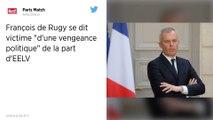 François de Rugy dénonce une « vengeance politique » de son ancien parti EELV