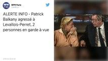 Patrick Balkany agressé à Levallois-Perret, 2 personnes en garde à vue