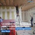 Lons-le-Saunier: les travaux se poursuivent au campus numérique
