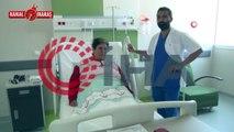 Daha önce 'Gazın var' denilerek başka bir hastaneden gönderilen kadının vücudundan öyle bir şey çıktı ki...
