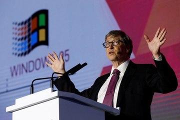Retrato de Bill Gates: el multimillonario fundador de Microsoft