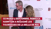 PHOTO. Plus belle la vie : la belle déclaration d'amitié de Laurent Kérusoré à Rebecca Hampton