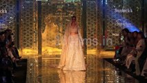 Deepika Padukone Turns Glamorous Bride Walks on Ramp for Abu Jani and Sandeep Khosla