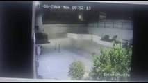 UFO CAUGHT ON TAPE -- REAL Footage from security camera -