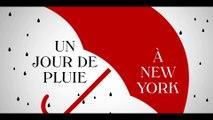 UN JOUR DE PLUIE A NEW YORK (2019) Bande Annonce VOSTF - HD