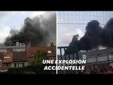 Une bouteille d'éthylène explose dans un collège à Béthune