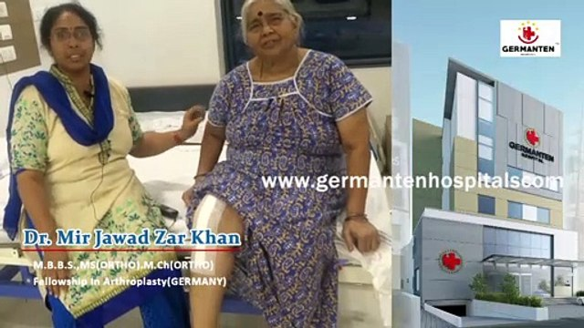Total Knee Replacement Surgery in Hyderabad By Dr Mir Jawad Zar Khan